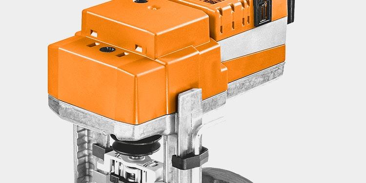 Universal retrofit motor sædeventil til udskiftning af ventiler i HVAC anlæg.