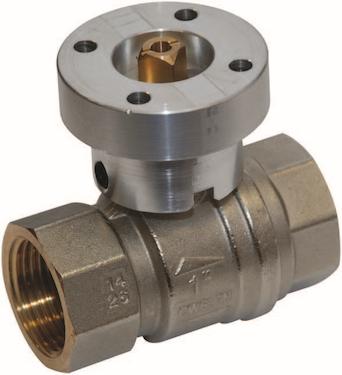 Drikkevands godkendt 2-vejs ventil fra Belimo med on/off funktion.