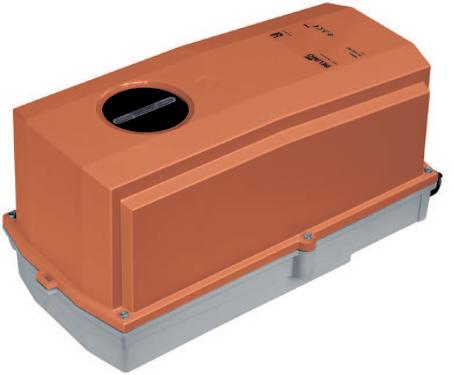 IP66 spjældmotorer fra Belimo til brug under ekstreme forhold.