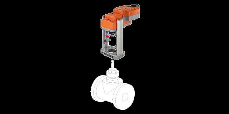 Vand ventil fra Belimo til brug i HVAC systemer.